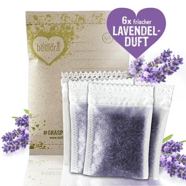 Lavendel wirkt antiviral und antibakteriell
