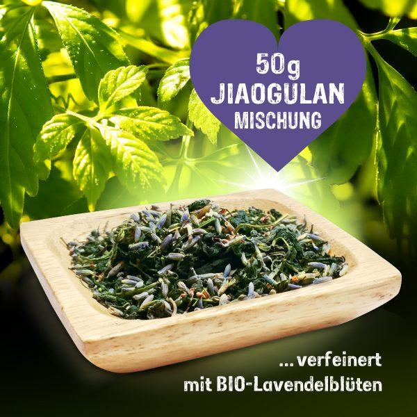 Jiaogulan Duftkraut - 50g Mischung mit Lavendelblüten