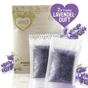 Lavendel Duft Lavendelsäckchen mit gereinigten Lavendelblüten